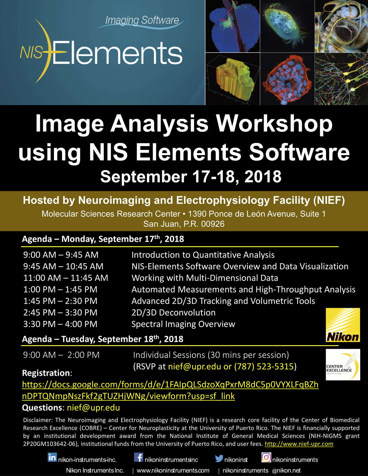 NIS Elements workshop
